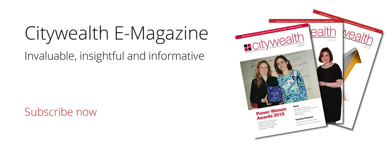 Citywealth is the leading magazine for private wealth management