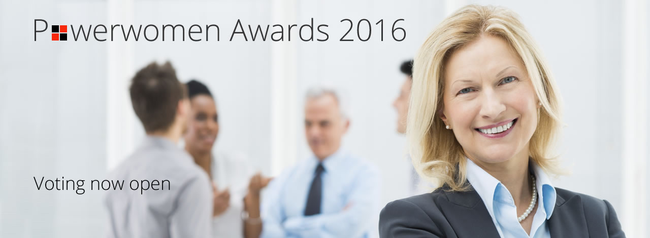Votes are now being taken for the Power Women Awards